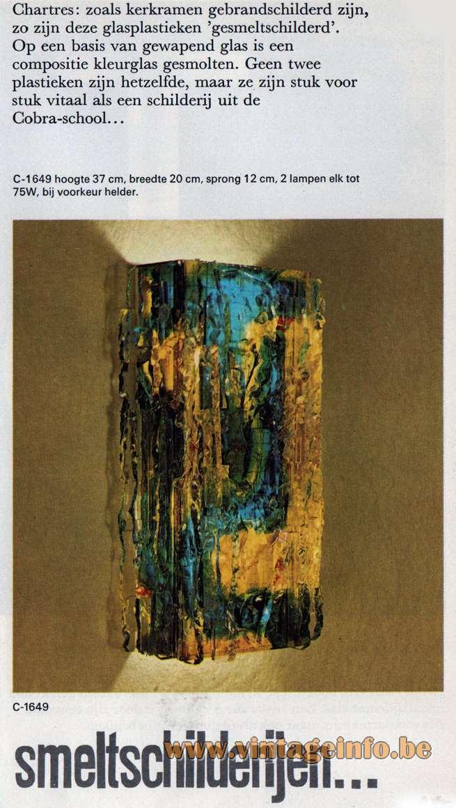 Raal Chartres Wall Lamp C-1649 - Raak Catalogue