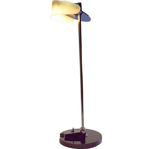 Arteluce Fritz desk lamp Memphis style halogen table lamp 1987 design by King & Miranda