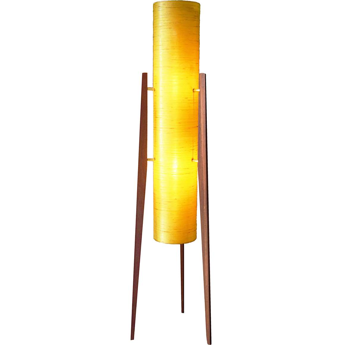 Fibreglass Rocket Floor Lamp
