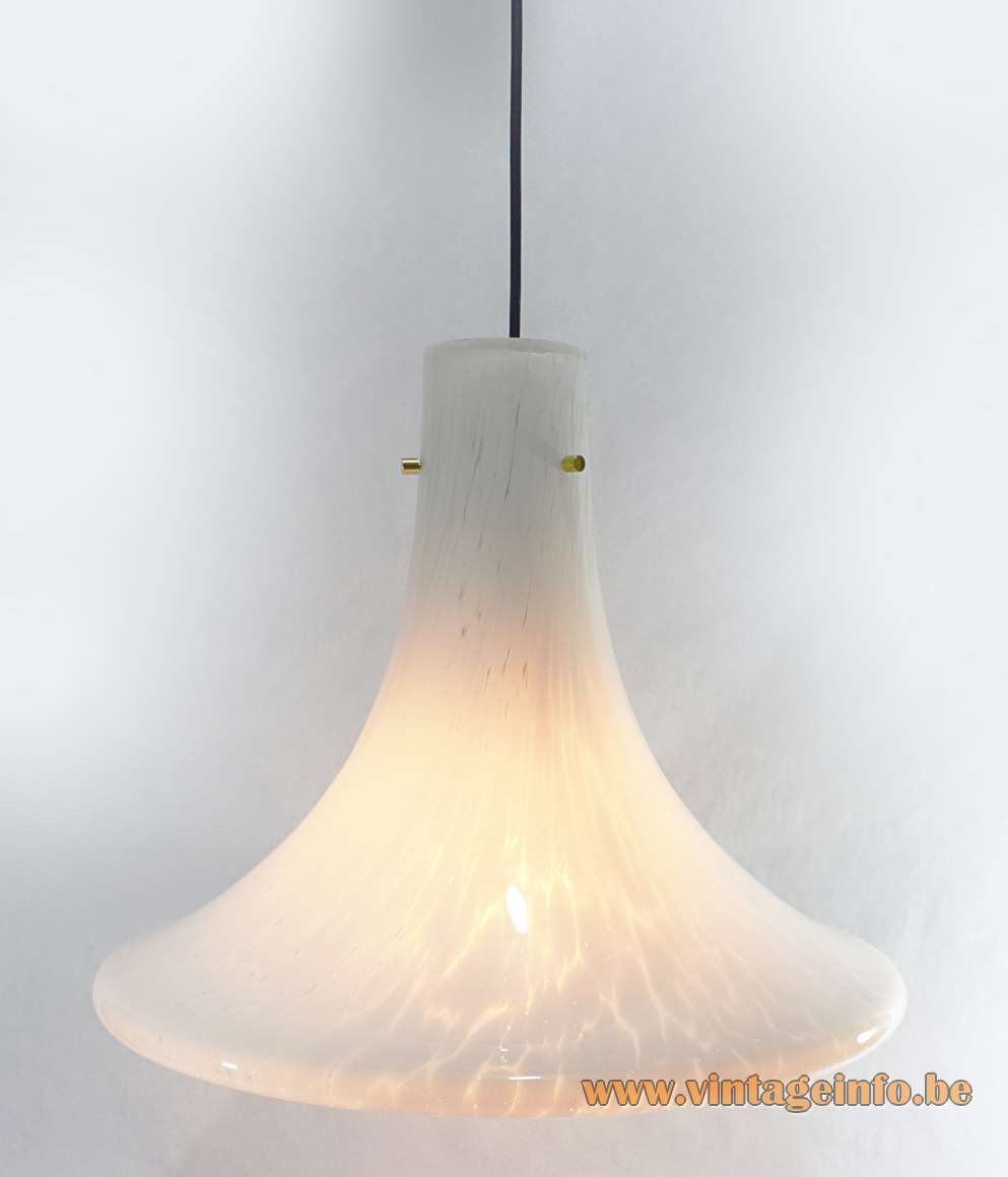 Glashütte Limburg Crystal Glass Pendant Lamp
