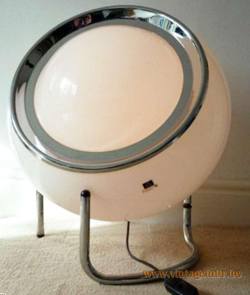 Harvey Guzzini Clan Floor Lamp - 1976 white version