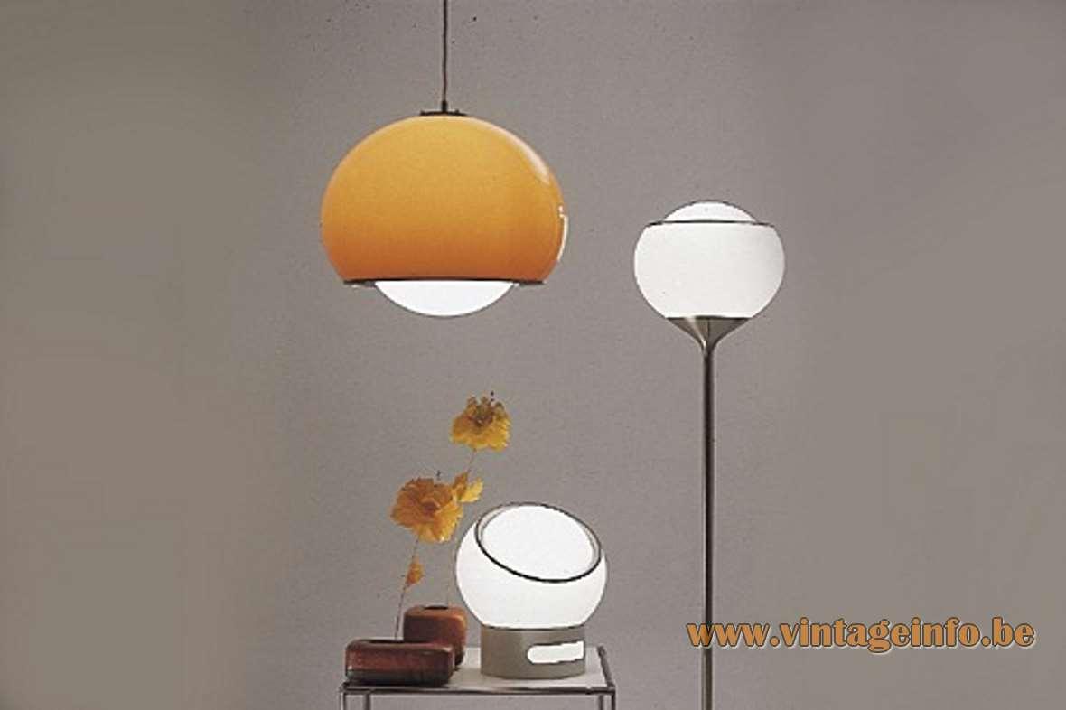 Harvey Guzzini Clan Floor Lamp Vintage Info All