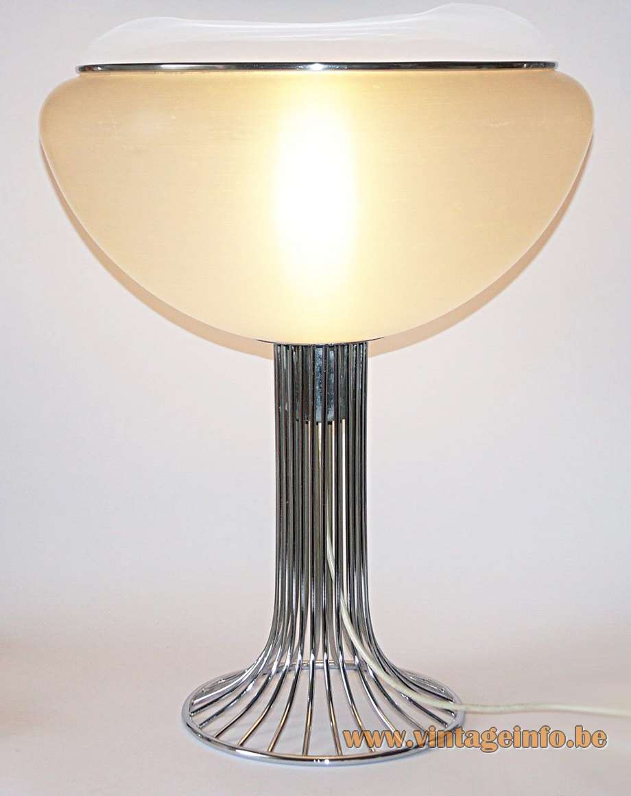 Harvey Guzzini Moana Table Lamp Vintage Info All About