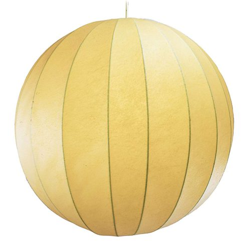Raak Chrysaline pendant lamp big Cocoon plastic globe model B-1057 1950s 1960s vintage light MCM