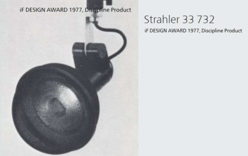 Roger Tallon ERCO Spots ''Micro'' - iF Design award 1977 - 33 732