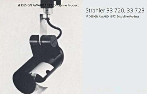 Roger Tallon ERCO Halogen Spots - iF Design award 1977 Erco 33 720, 33 723