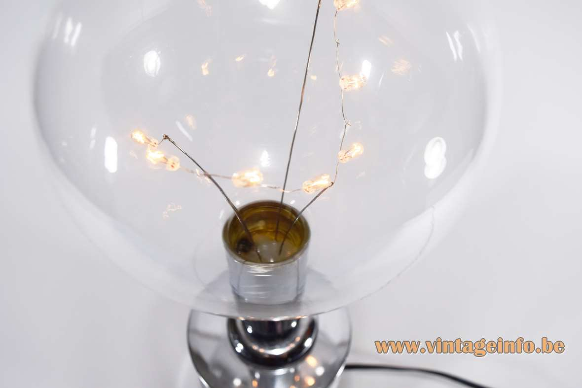 Globe Filament Table Lamp