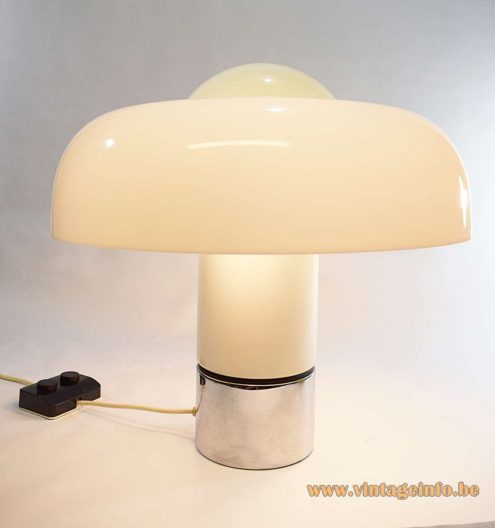 Harvey Guzzini Brumbry table lamp - white edition