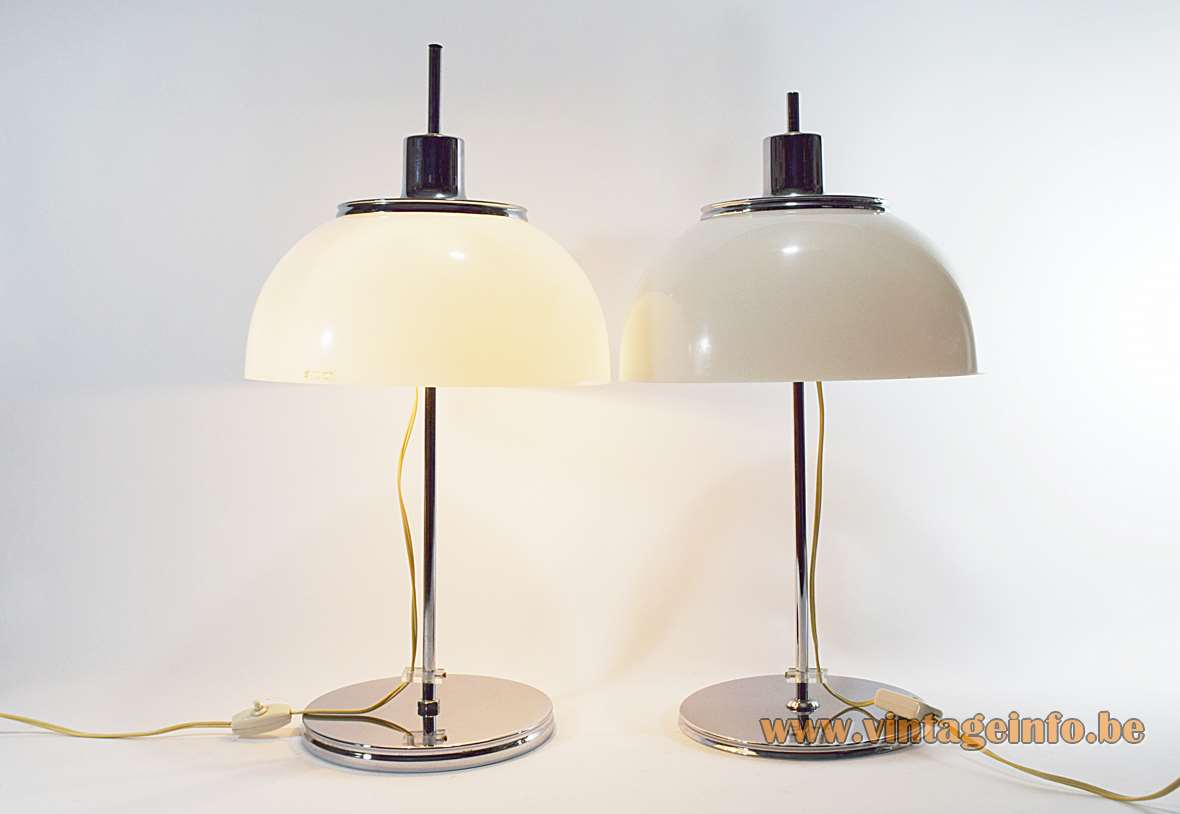 Harvey Guzzini Faro Table Lamps Vintage Info All About