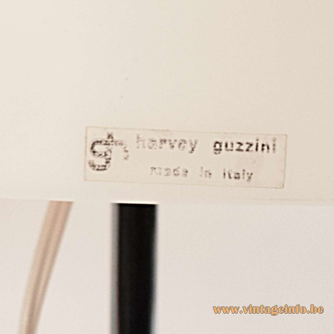 Harvey Guzzini Faro Table Lamps acrylic round mushroom lampshades chrome base & rod 1960s 1970s MCM
