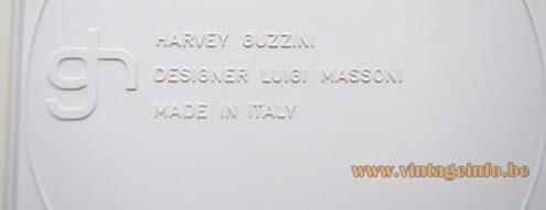 Harvey Guzzini - Full Ashtrays - Luigi Massoni - back