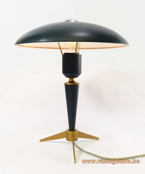 Louis Kalff Bijou Table Lamp - 1960s Model