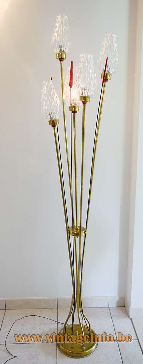Lunel 1950s Floor Lamp