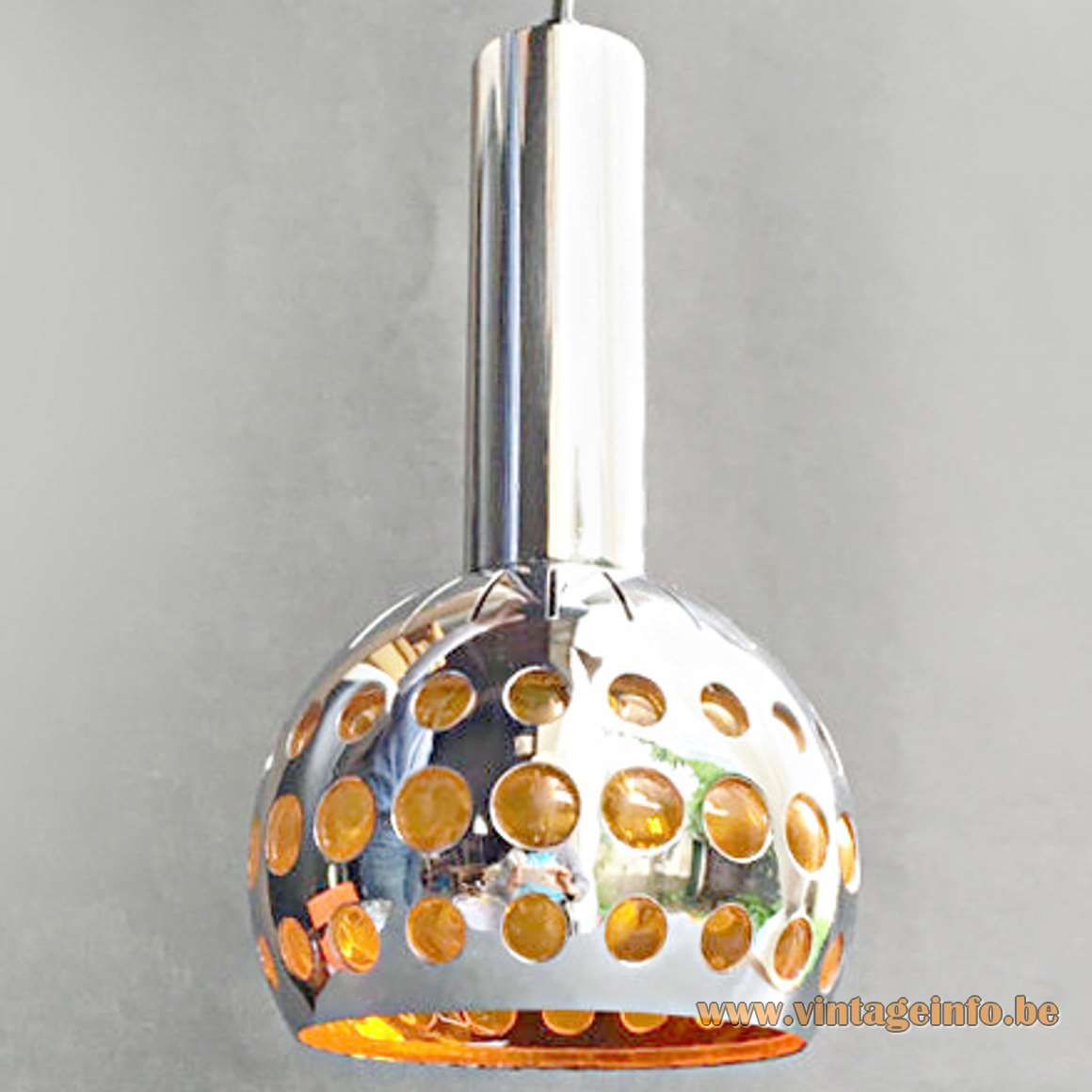Massive Belgium Pendant Lamp - Orange - Raak Amsterdam