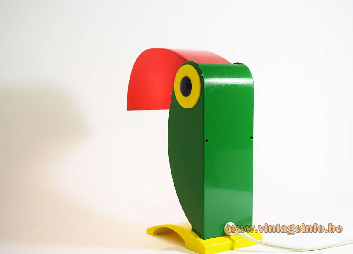 Toucan Table Lamp