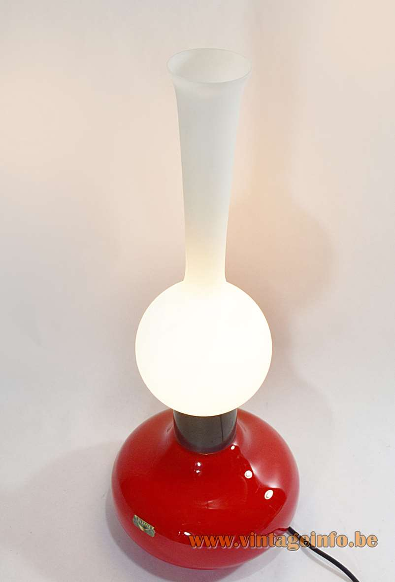 1950s Vistosi Oil Table Lamp