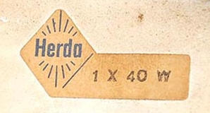 Herda Label - 1 x 40 Watt