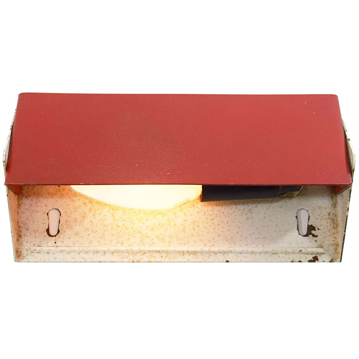 1960s Rectangular Wall Light