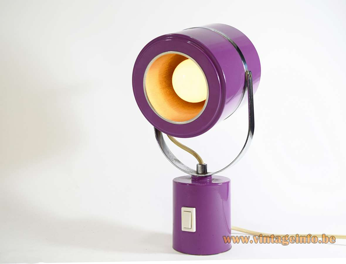 1970s Elma Table Lamp