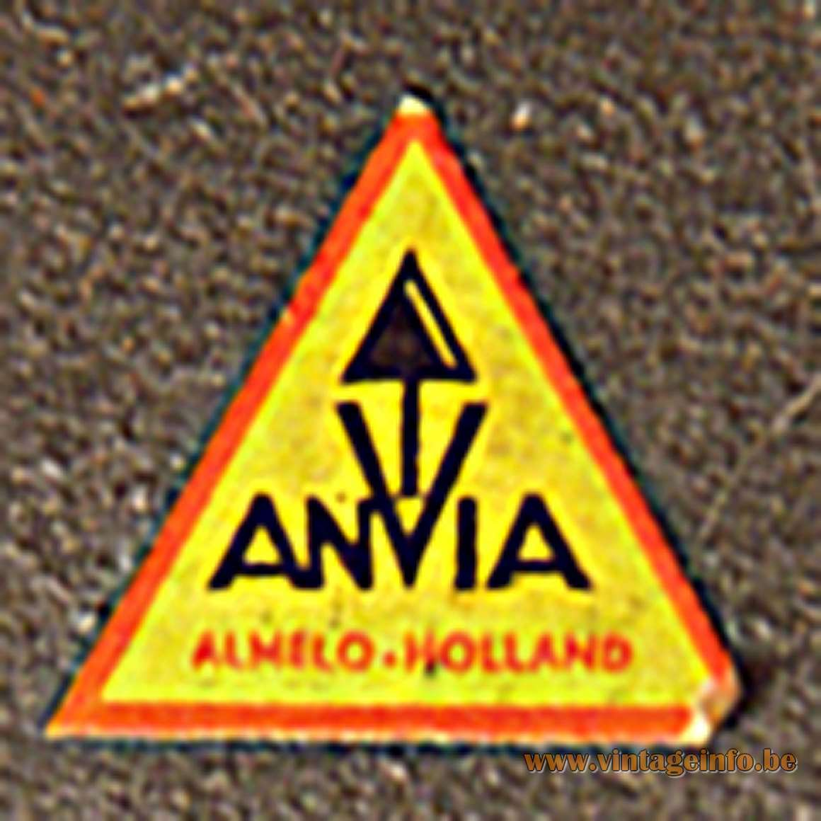 ANVIA Horseshoe Desk Lamp 6043 - ANVIA label & logo
