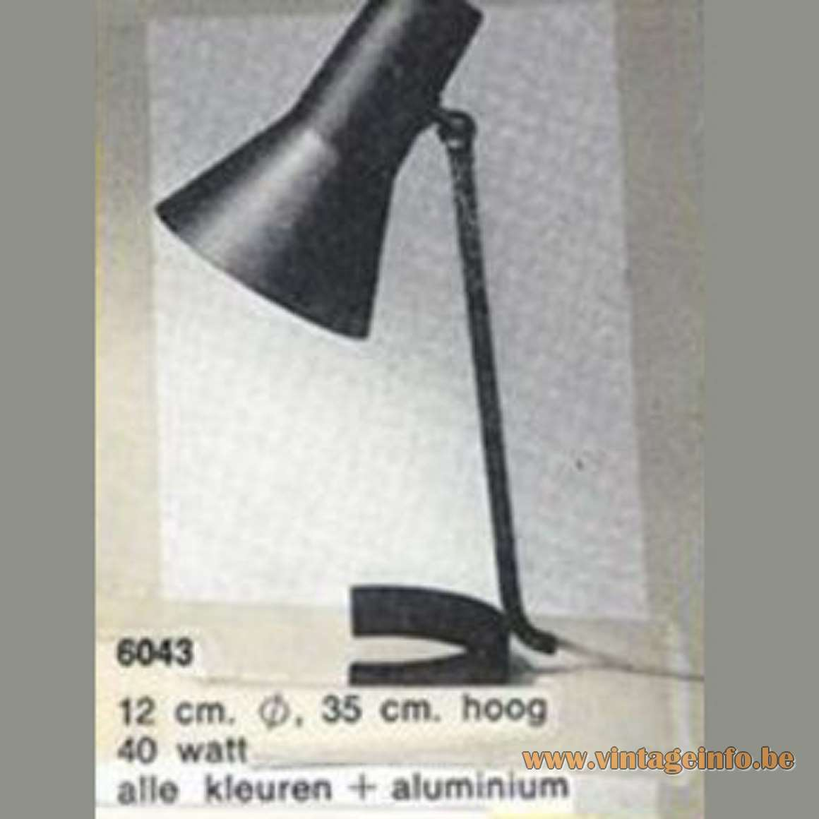 ANVIA Desk Lamp 6043 - Anvia catalogue picture
