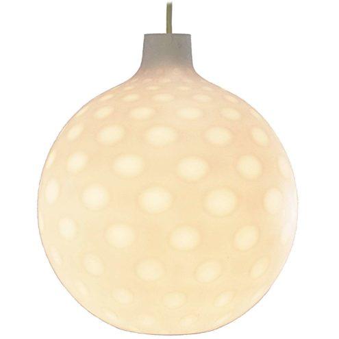 Como Pendant Lamp, 1960s, 1970s, white spots glass, Aloys Ferdinand Gangkofner (1920-2003)