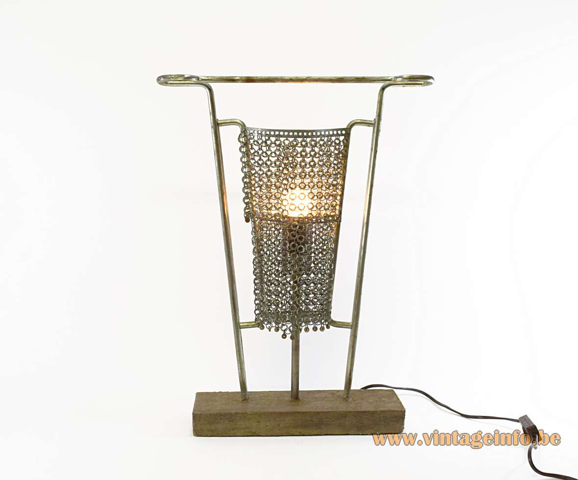 King Arthur Table Lamp