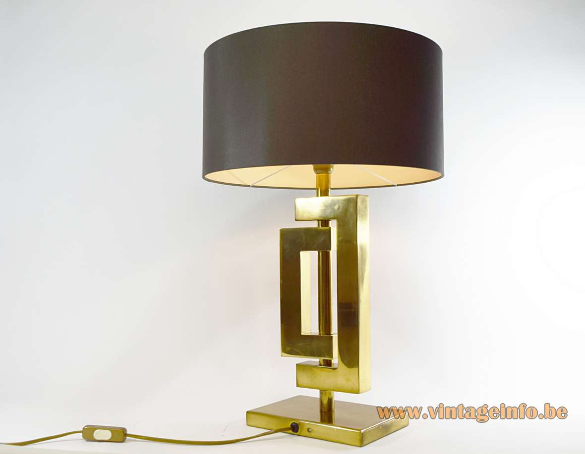 Romeo Rega Brass Table Lamp