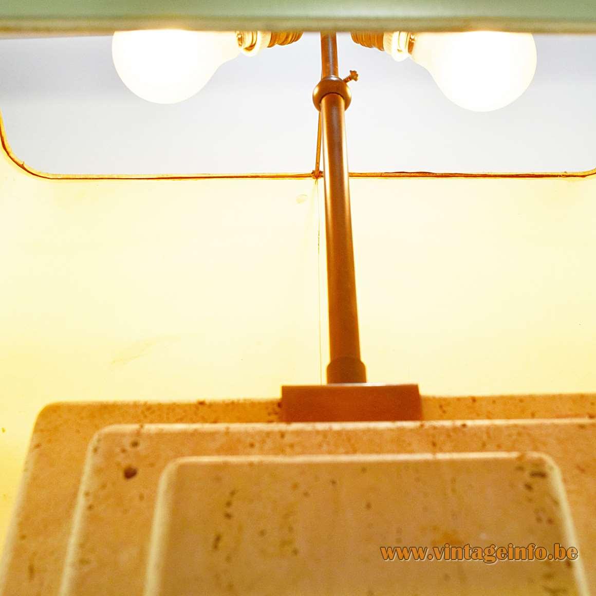Travertine Table Lamp - Camille Breesch Belgium