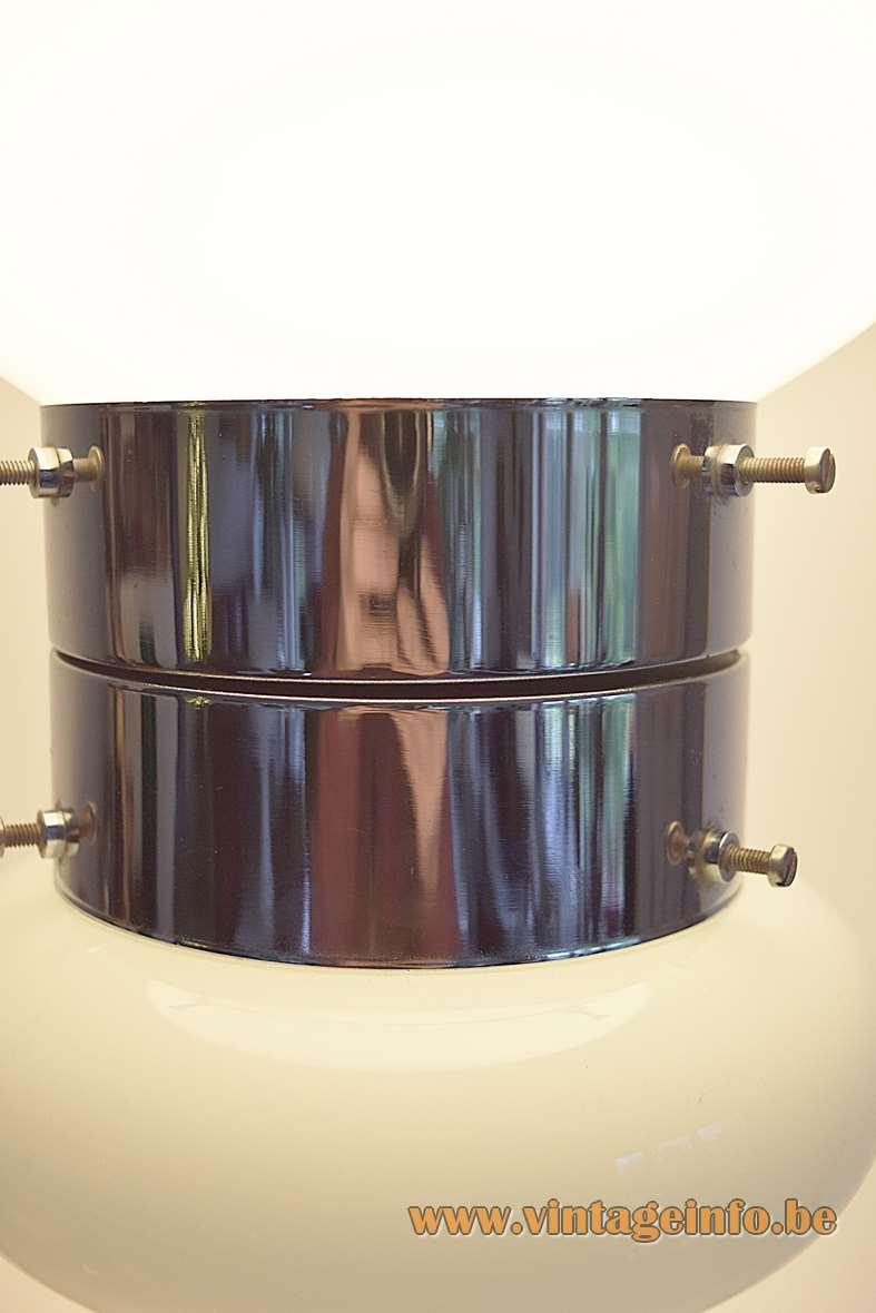 AV Mazzega White Table Lamp