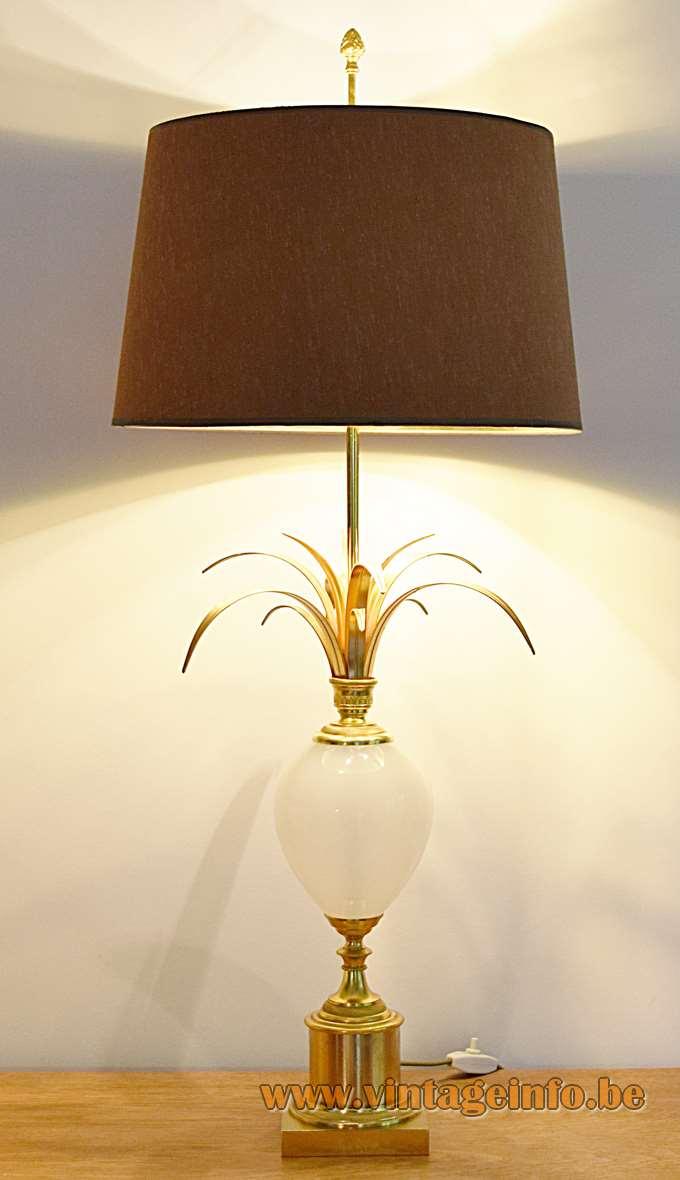 Boulanger Ostrich Egg Table Lamps - Other version