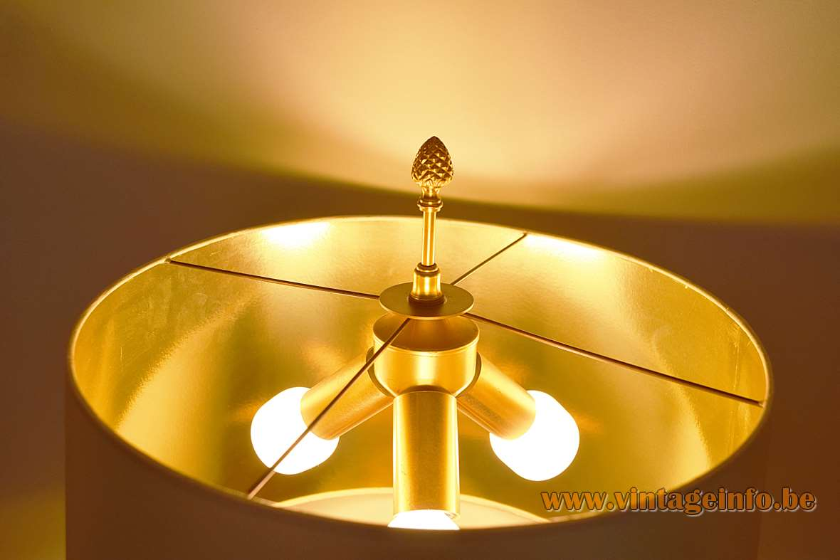 Boulanger Ostrich Egg Table Lamps