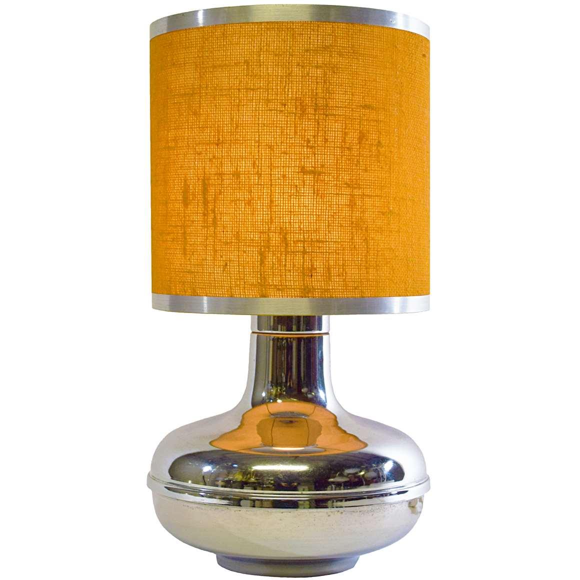 Chromed Table Lamp