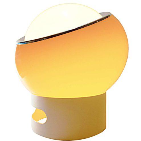 Harvey Guzzini Clan Floor Lamp, Design: Studio 6G, 1968, brown acrylic, iGuzzini, Meblo, Harveiluce, table lamp