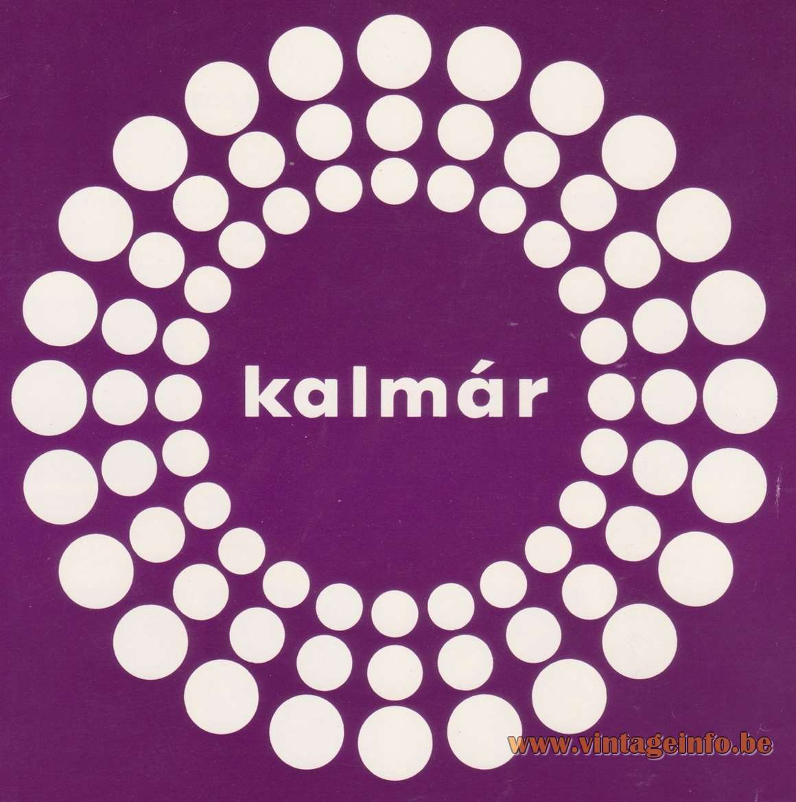 Kalmar Franken 1960s 1970s Logo