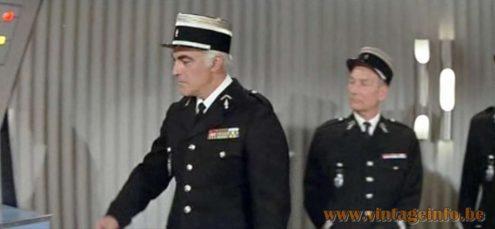 Le Gendarme Se Marie - The Gendarme Gets Married - Raak Fuga Wall Lamp - 1968