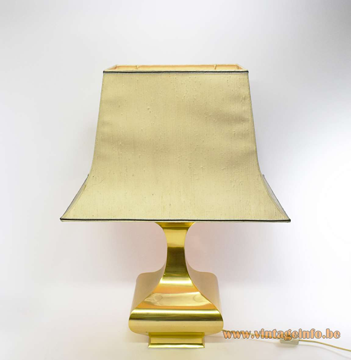 Maria Pergay Balustre Table Lamp