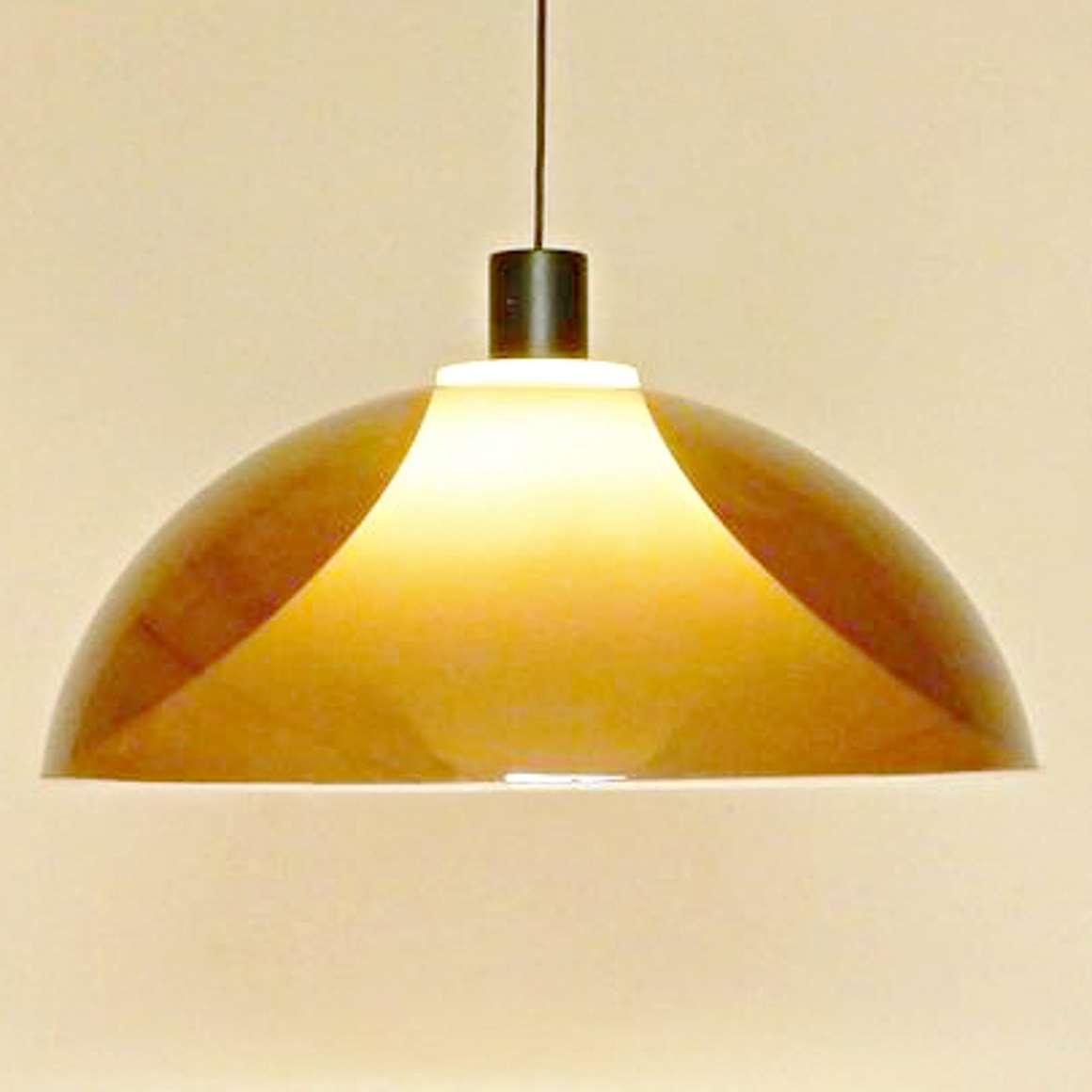 Perspex Martinelli Luci Pendant Light - brown
