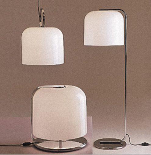Harvey Guzzini Alvise Pendant Lamp, Table Lamp, Floor Lamp - Catalogue Picture