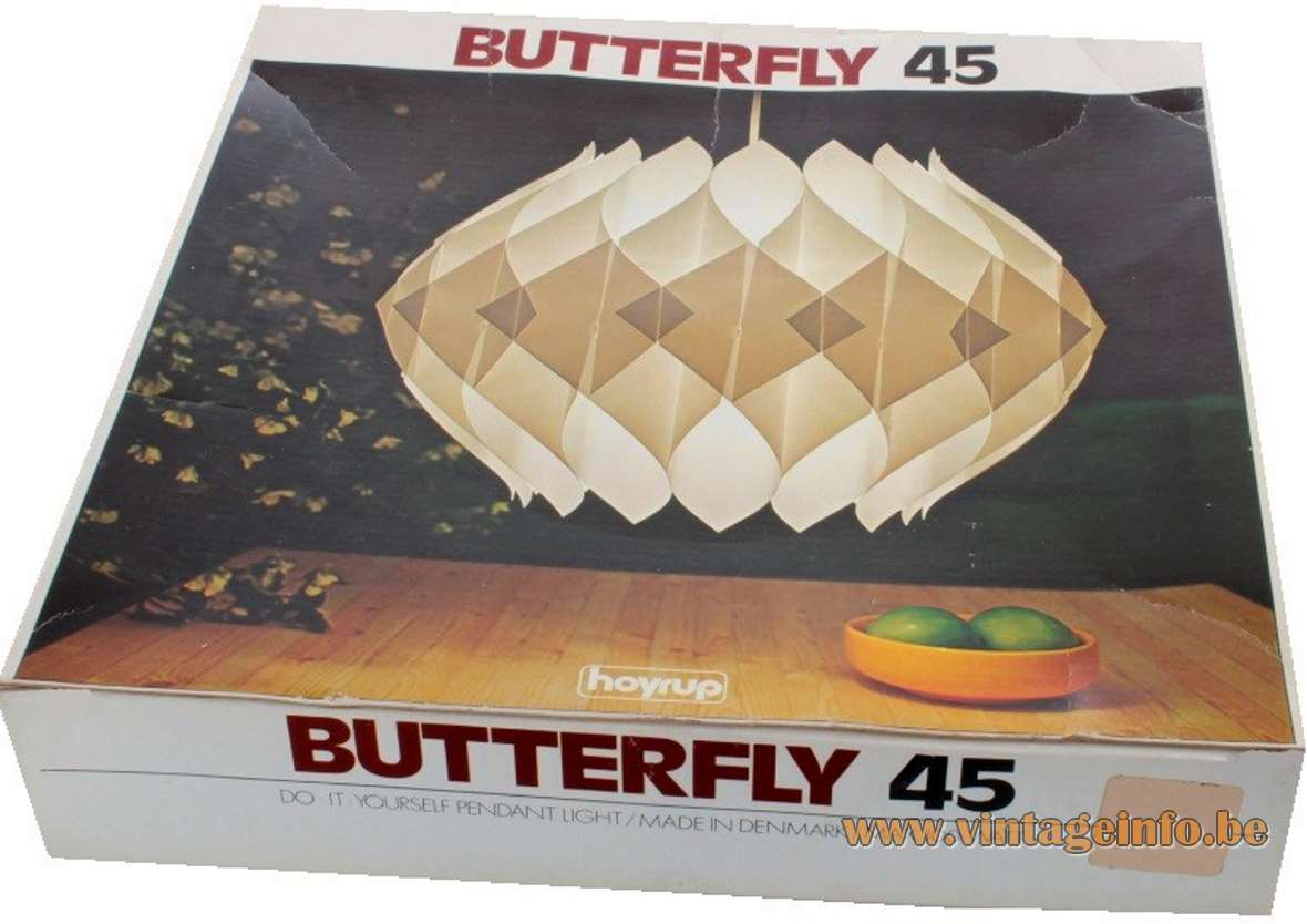 Hoyrup Butterfly pendant lamp 45 - Box