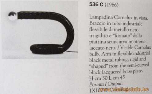 Gino Sarfatti 536 desk lamp - Arteluce S.A.S.