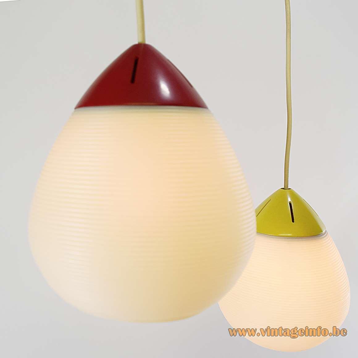 Rotaflex Triple Pendant Lamps