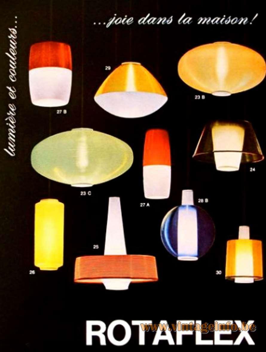 Rotaflex UFO Pendant Lamp - Rotaflex Publicity