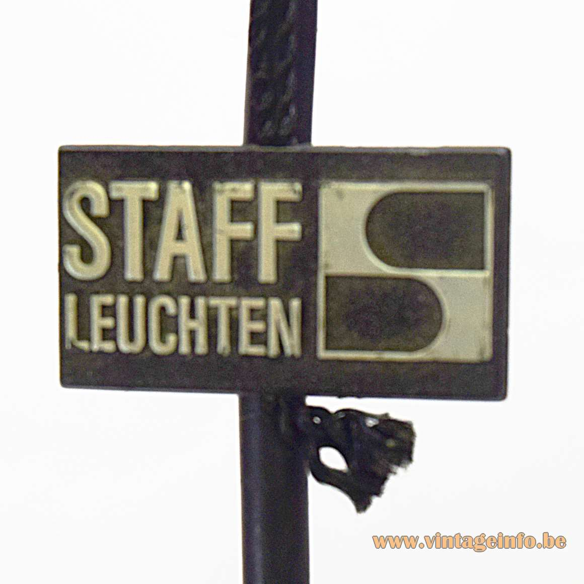 Staff Pendant Lights 5517 - attached logo/label