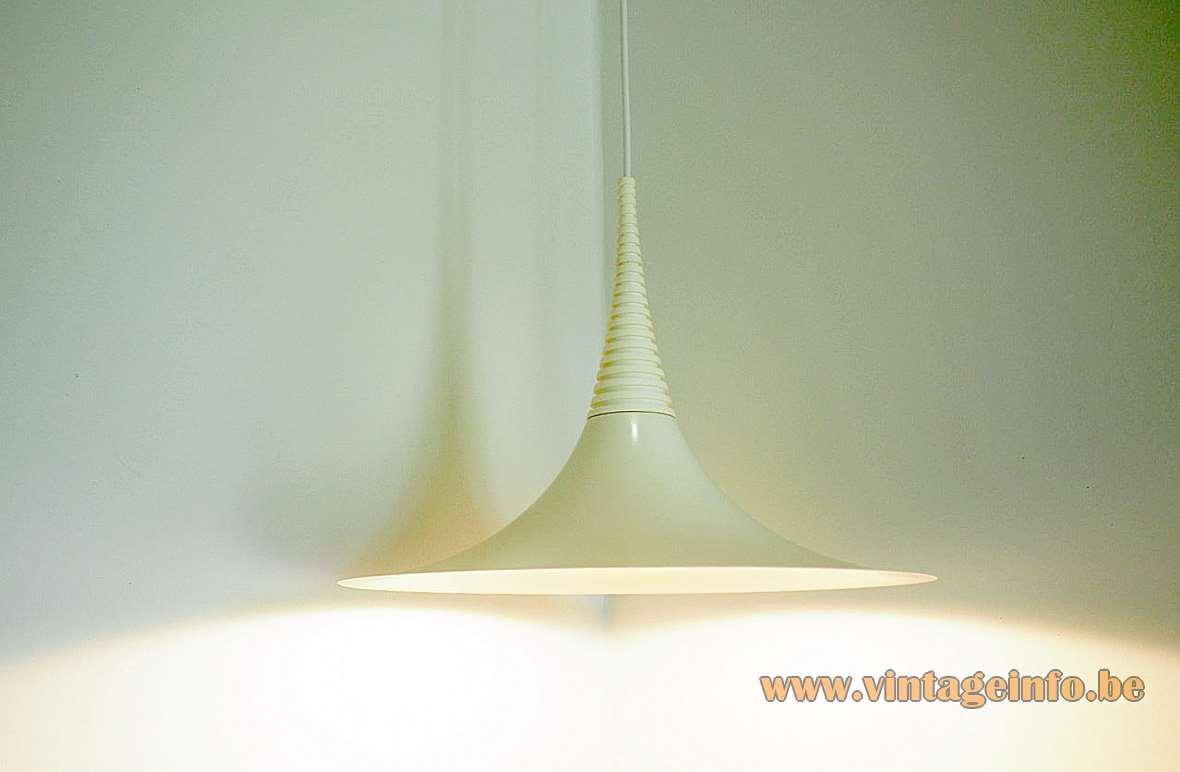 Xantippe Witch Hat Pendant Lamp design: Ad van Berlo, Vrieland Design NL, Knud Christensen Denmark 1980s