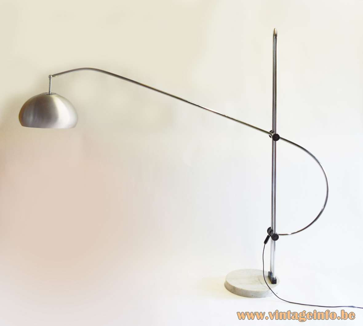 1960s Articulating Arc Floor Lamp Vintage Info All