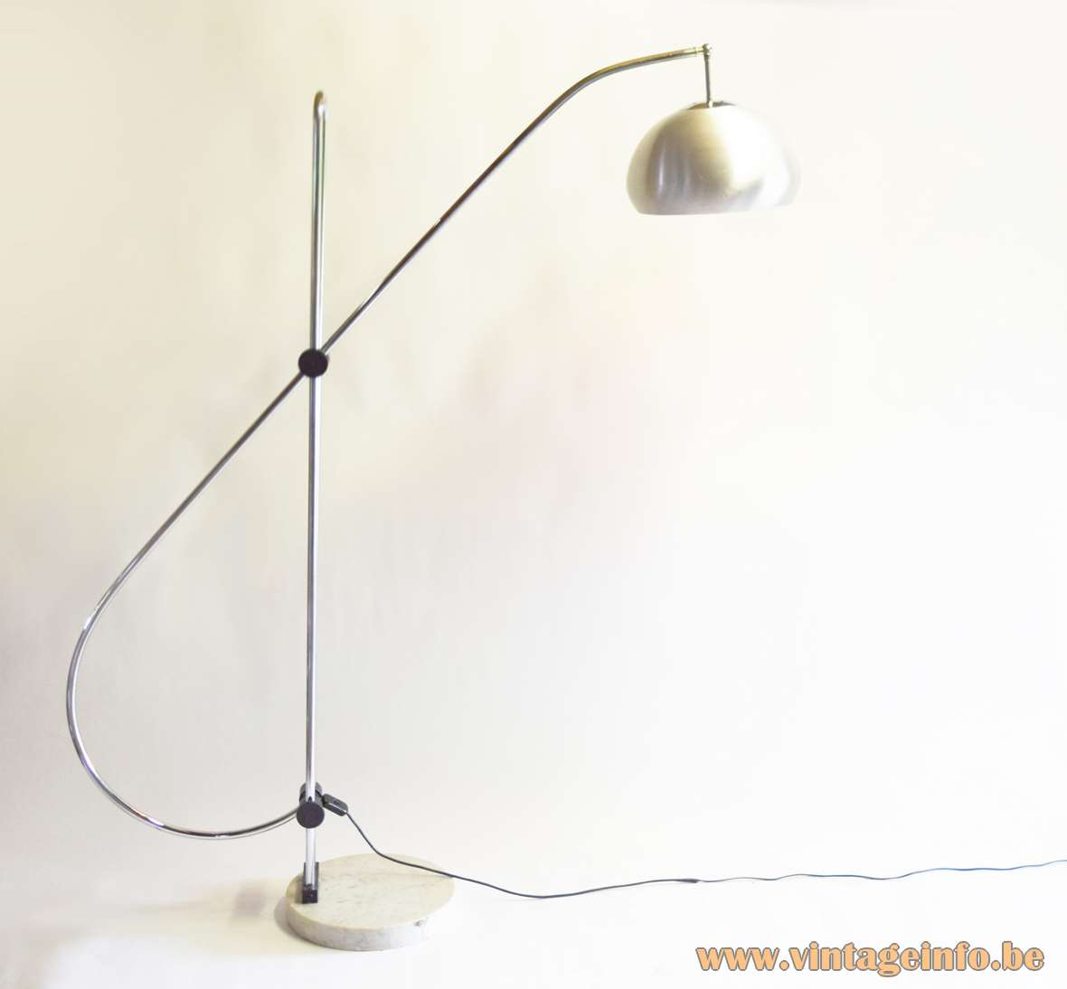 1960s Articulating Arc Floor Lamp Vintage Info All About Vintage Lighting