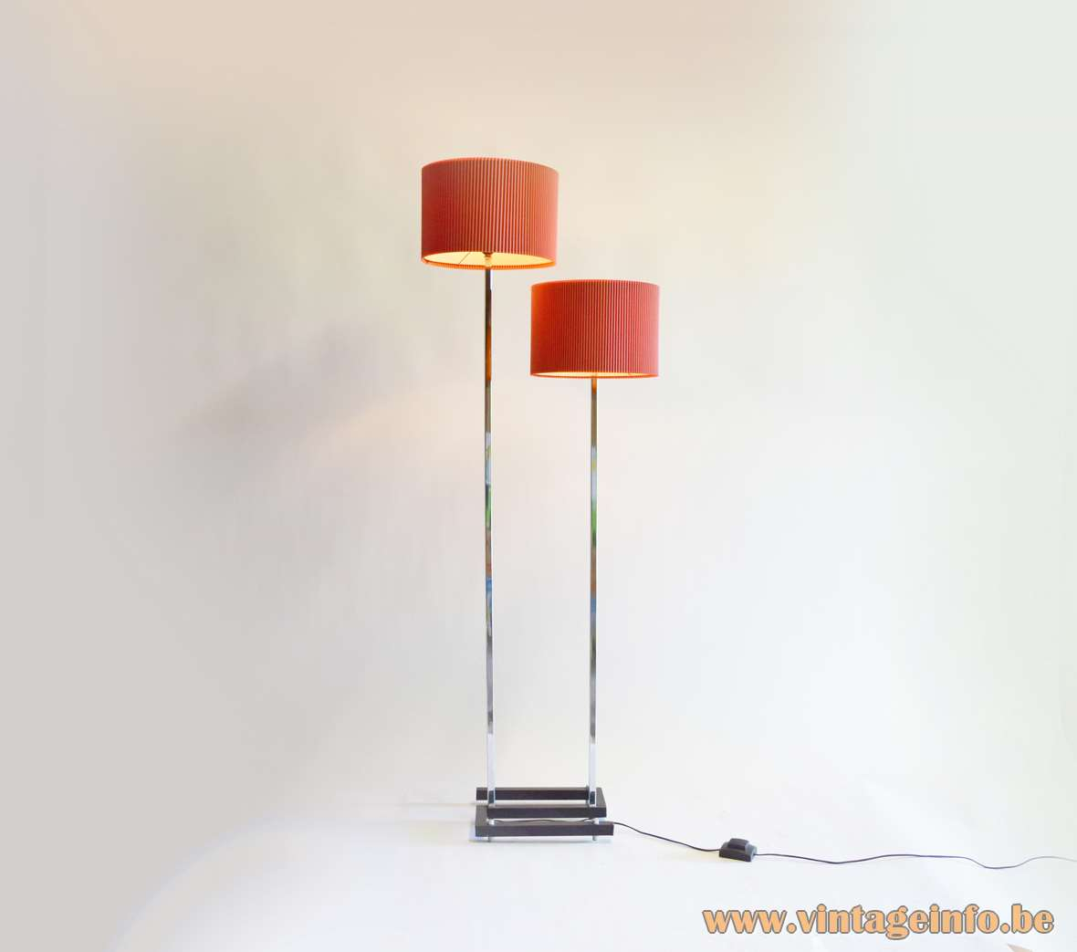 Celluloid Floor Lamp