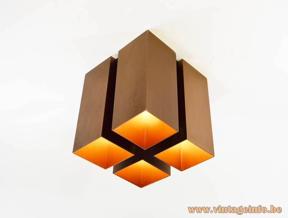 Quadrille Flush Mount