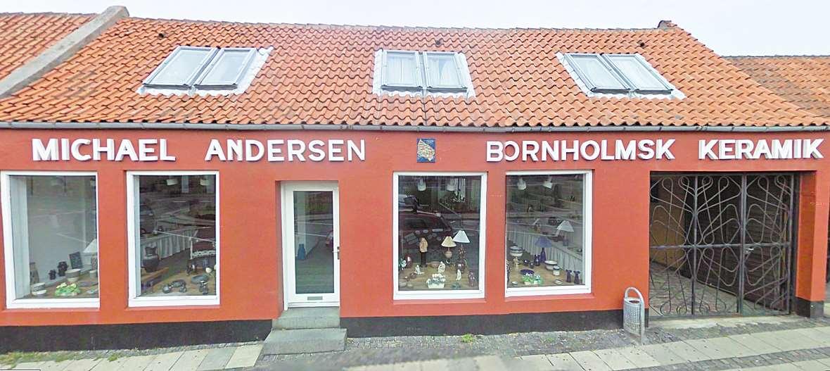 Michael Andersen Bornholsk Keramik - picture copyright Google.